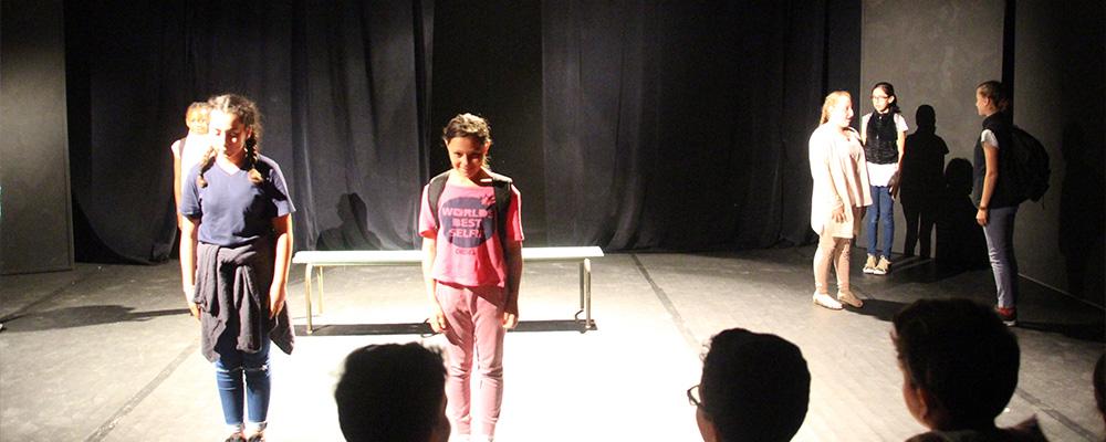 Stage de théâtre pour les 9-12 ans